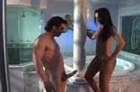 Brasileira Julia Paes em sexo quente.
